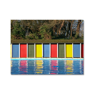 TOOTING BEC LIDO DOORS Hahnemühle Photo Rag Print - Amy Adams Photography