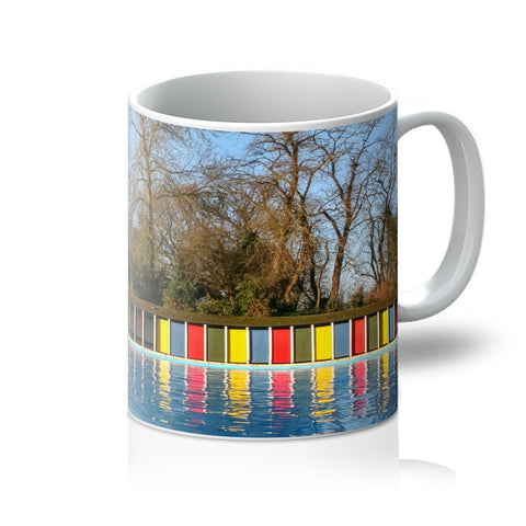 TOOTING BEC LIDO WITH TREES Mug - Amy Adams Photography