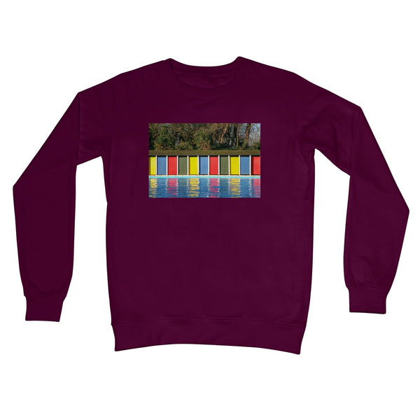 TOOTING BEC LIDO DOORS Unisex Sweatshirt - Amy Adams Photography