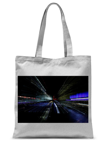 LONDON NIGHTS: CHAOS Sublimation Tote Bag - Amy Adams Photography