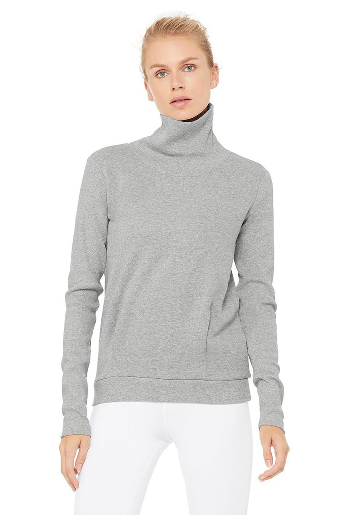 Alo Clarity Long Sleeve Top, Shop Barre Plus