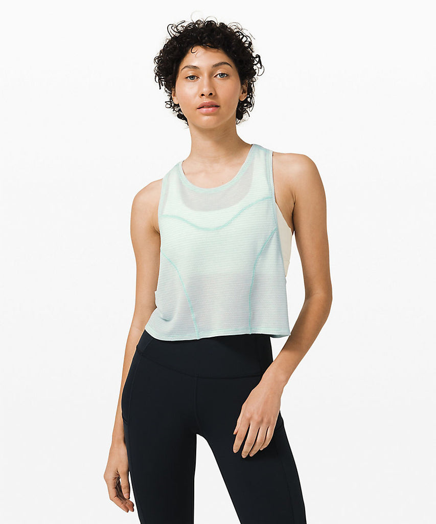 Stronger As One Muscle Tank, Blue, Raleigh Bird