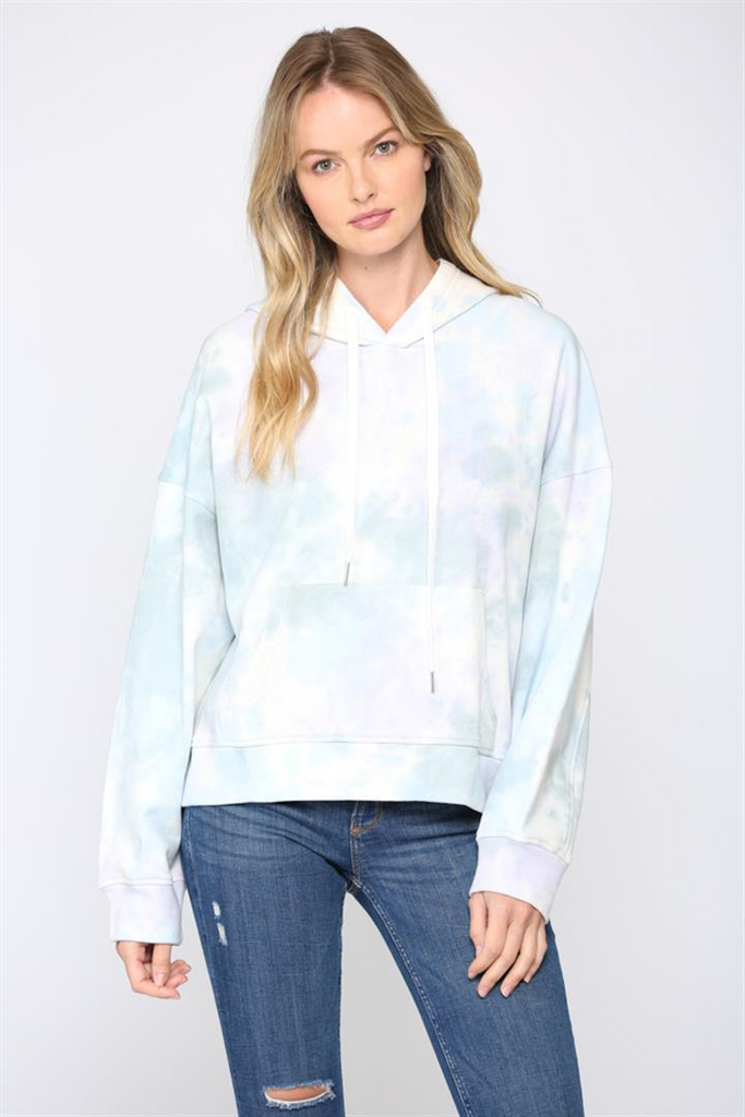 Tie Dye Hooded Sweatshirt, Shop Raleigh Bird