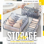 【AUTUMN SALES PROMOTION - Only $7】Underwear Storage Box Compartment