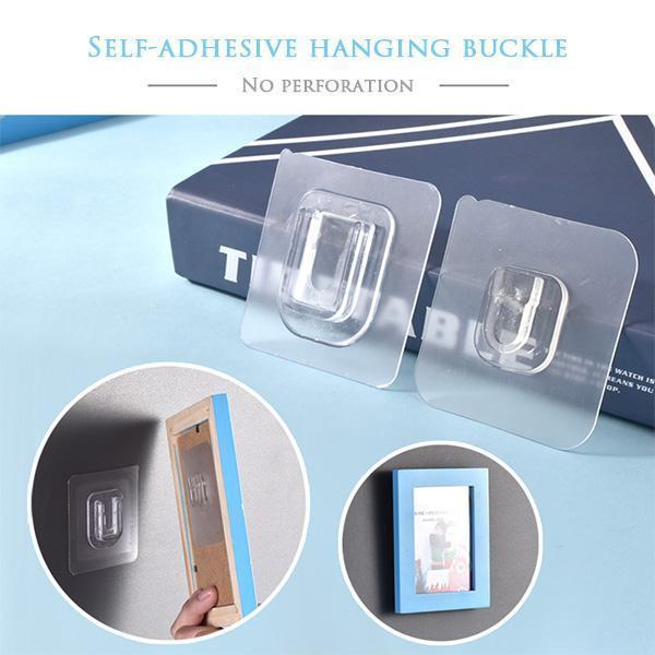 【AUTUMN SALES PROMOTION - Only $1.99】Double-sided Adhesive Wall Hooks