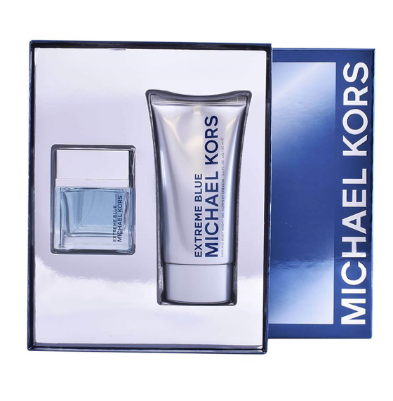 Michael Kors Set para Caballero Extreme Blue Loción 70 ml / Hair & Body Wash 150 ml Envío Gratis a Todo México