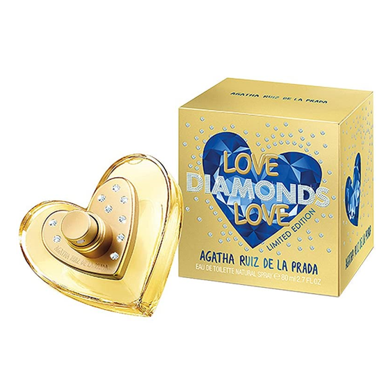 Agatha Ruiz de la Prada Love Diamonds Love 80 ml EDT Spray Envío Gratis a Todo México
