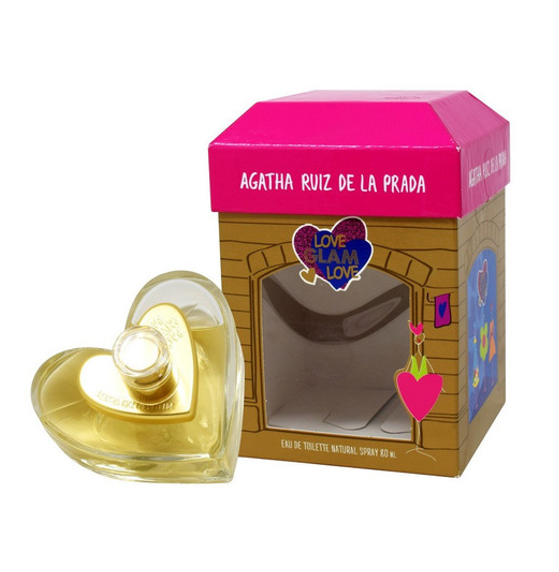 Agatha Ruiz de la Prada Love Glam Love Fashion Collector 80 ml EDT Spray Envío Gratis a Todo México