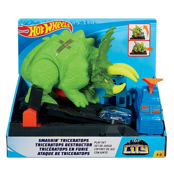 Hw City Triceratops Destructor
