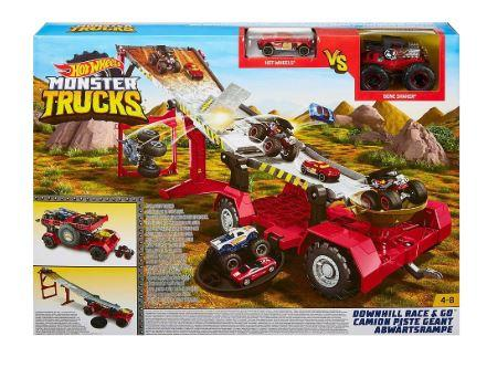 Hw Monster Trucks Remolque Extremo
