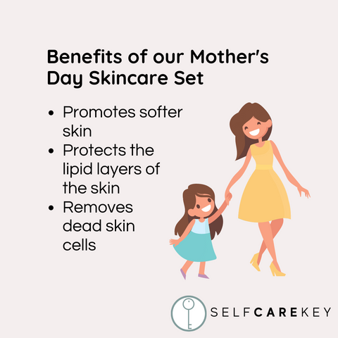 mother's day skincare set benefits