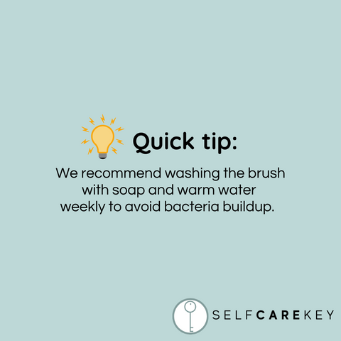 using facial cleansing brushes