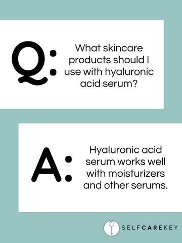 hyaluronic acid serum products