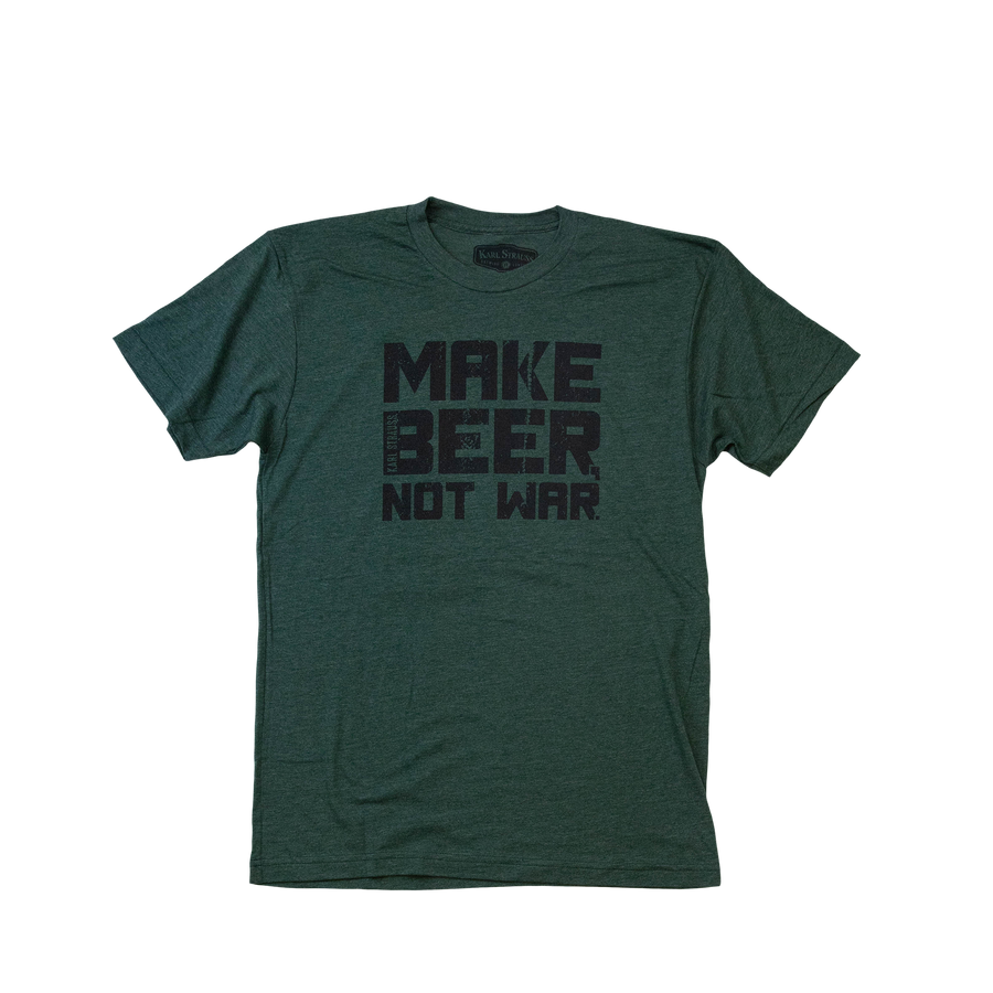 Make Beer Not War Bomber Tee
