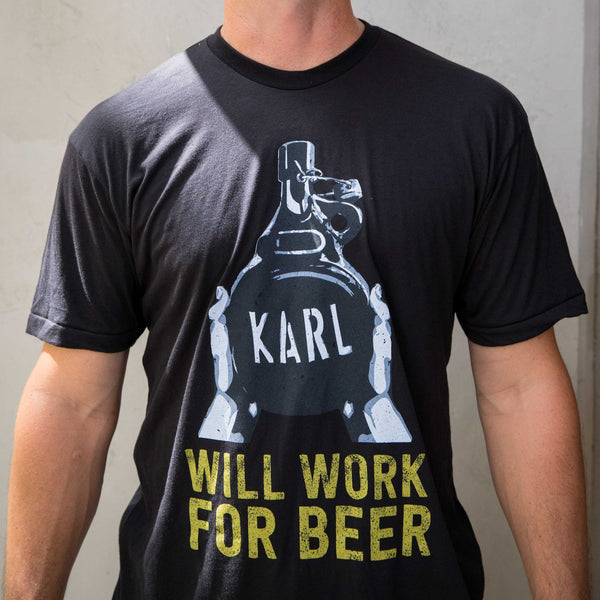 Will Work for Beer Tee
