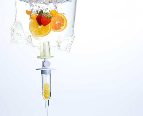 IV therapy with nutrition to boost immune system