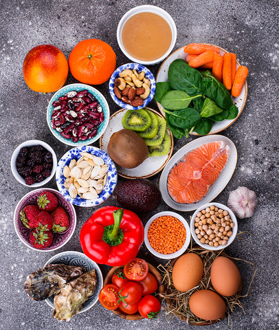 Food rich in collagen healthy products