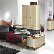 Load image into Gallery viewer, Copenhagen 2 + 3 + 4 Drawer Extra wide chest in Cream/Pine