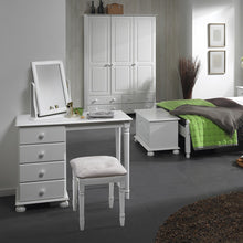 Load image into Gallery viewer, Copenhagen 3 Door 4 Drawer Wardrobe in White
