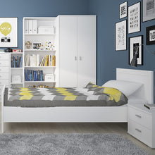 Load image into Gallery viewer, 4 You 2 Drawer low chest/ Bedside in Pearl White
