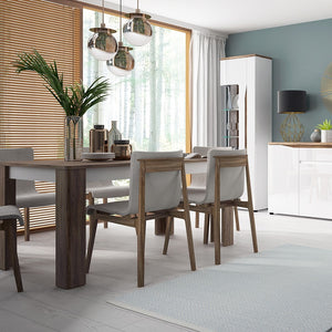 Toledo extending dining table