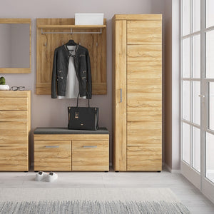 Cortina Tall cupboard (RH) in Grandson Oak
