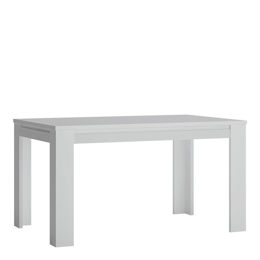 Novi Extending Dining Table in Alpine White