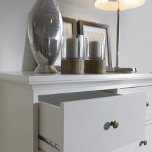 Load image into Gallery viewer, Paris Chest of 6 Drawers in White