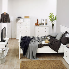 Load image into Gallery viewer, Paris TV Unit - 2 Shelves 2 Drawers in White