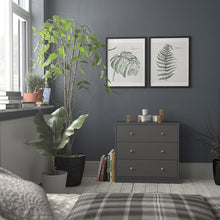 Load image into Gallery viewer, May Chest of 3 Drawers in Grey