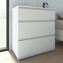 Load image into Gallery viewer, Nova Chest of 3 Drawers in White