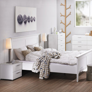 Pepe Bedside 2 Drawers in White