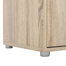 Load image into Gallery viewer, Match TV Unit 2 Doors 1 Drawer 1 Shelf in Oak
