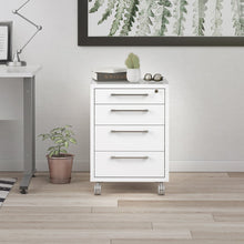 Load image into Gallery viewer, Prima Mobile cabinet in White