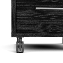 Load image into Gallery viewer, Prima Mobile cabinet in Black woodgrain