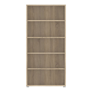 Prima Bookcase 4 Shelves in Oak