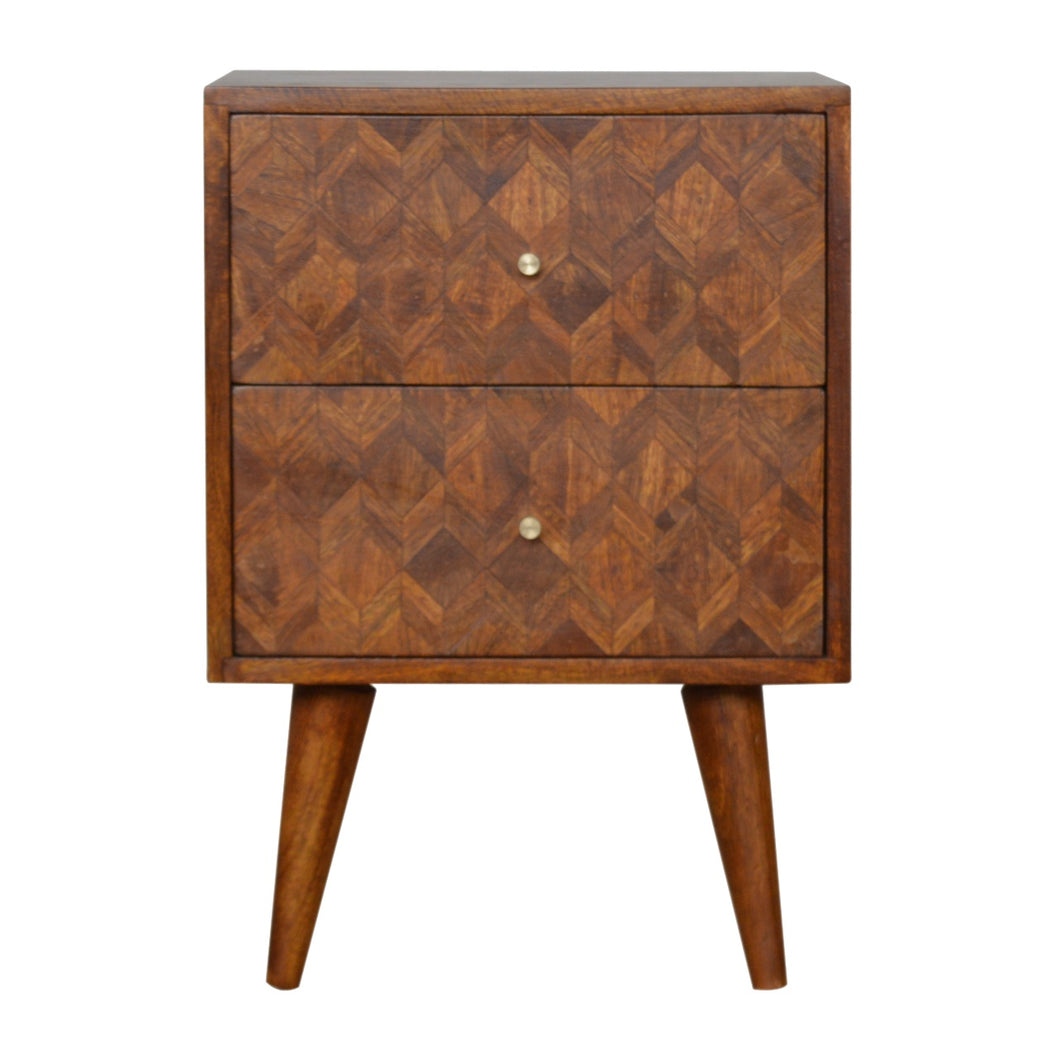 Assorted Chestnut Bedside