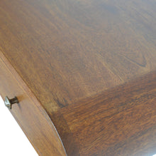 Load image into Gallery viewer, Wall Mounted Chestnut Console Table