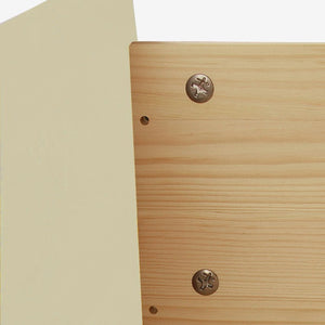 Copenhagen 2 + 4 Drawer Chest in Cream/Pine