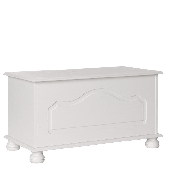 Copenhagen Blanket Box in White