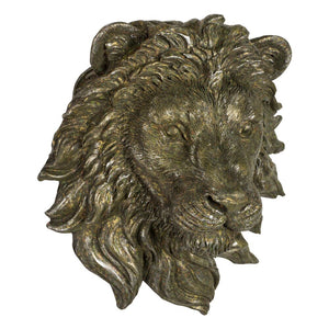Smaller Wall Mounted Lion Head