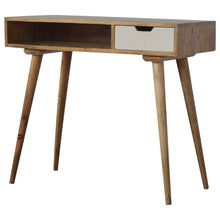 Load image into Gallery viewer, Writing Desk with Hand Painted Drawer