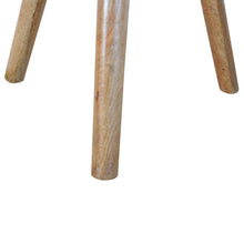 Load image into Gallery viewer, Lulu Round Tripod Stool