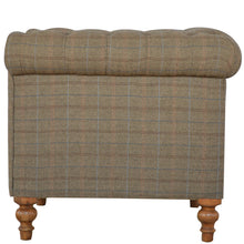 Load image into Gallery viewer, Multi Tweed 2 Seater Chesterfield Sofa