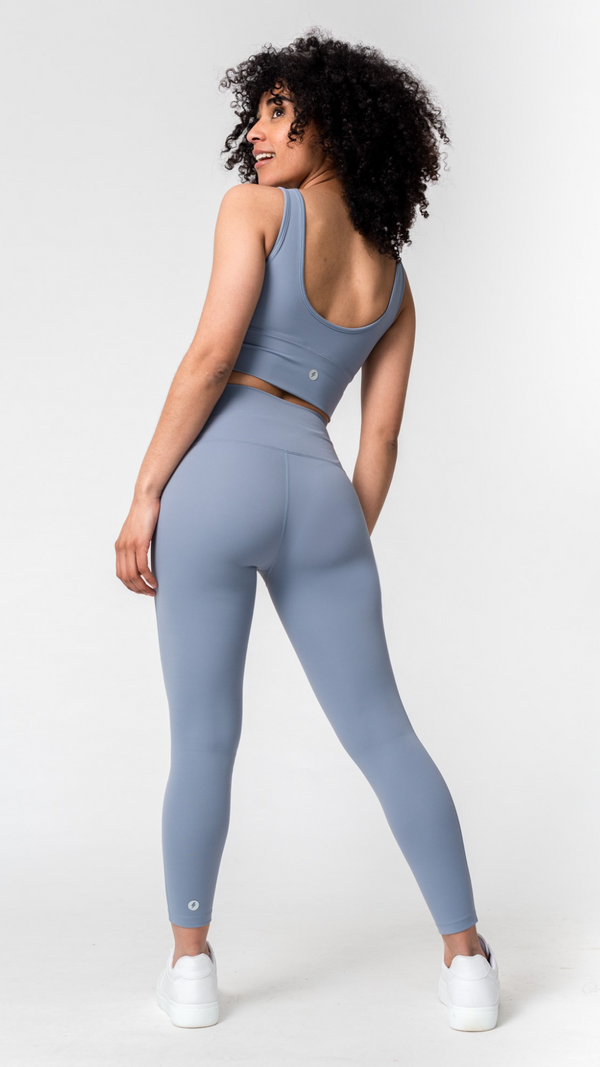 FreeLite High-Waisted Pastel Blue Leggings