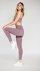 SÖLID MAUVE LEGGINGS