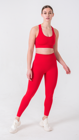 SÖLID RED LEGGINGS