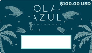 Ola Azul Swimwear Gift Card $100.00 USD
