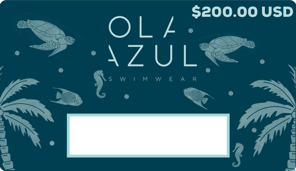 Ola Azul Swimwear Gift Card $200.00 USD