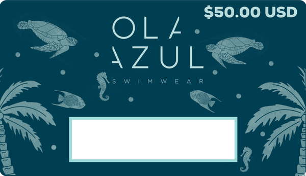 Ola Azul Swimwear Gift Card $50.00 USD